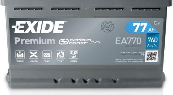 Manutenzione invernale: la batteria - image Exide_Premium_01_2019_reflection-660x365 on https://motori.net
